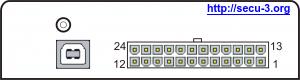Внешний вид блока SECU-3T