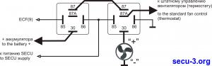 Подключение вентилятора без управления скоростью
