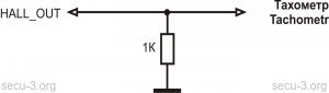 подключение низковольтного тахометра к МПСЗ