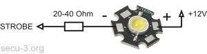 подключение стробоскопа на НЕ FE-IE