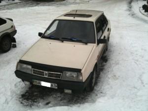 21099 с установленным SECU-3