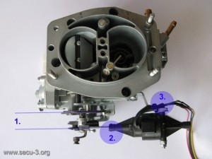 auto suction on the carburetor