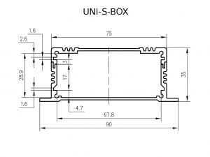 UNI-S-BOX enclosure
