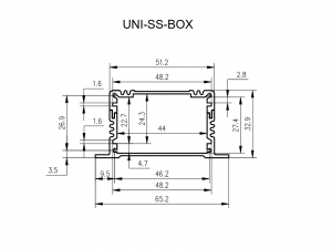 UNI-SS-BOX enclosure