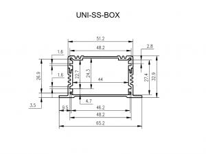 UNI-SS-BOX enclosure