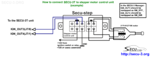 secu-3t connecting ign_out3 and ign_out4 to secu-step