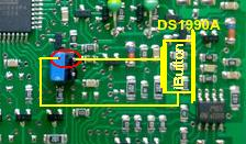 Подключение iButton DS1990 к блоку SECU-3T