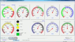 SECU-3 Manager v4.5 Full screen mode