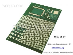 Пустая плата SECU-3 Lite Bluetooth