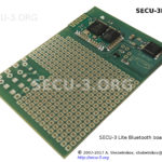 SECU-3 Lite Bluetooth with DIY space