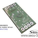 SECU-DRV8825 нижняя сторона