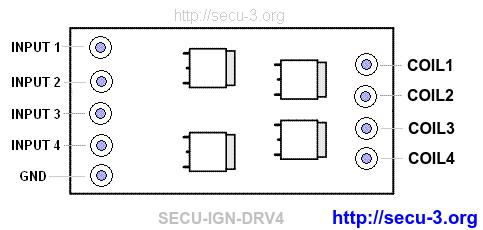 Драйвер зажигания для МПСЗ / ЭСУД SECU-3