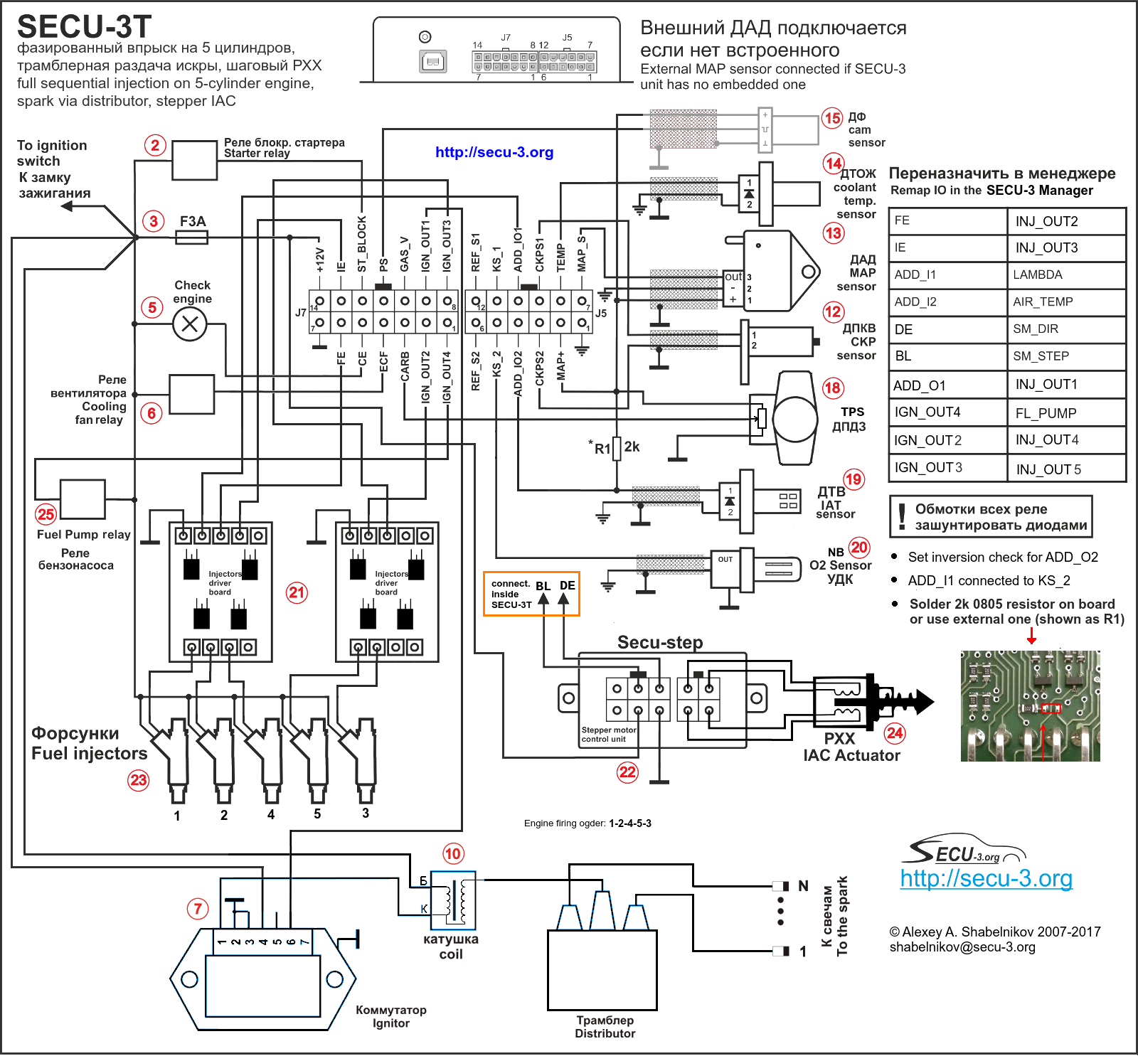 Wiring Diagrams For Secu 3 Units Examples Secu 3