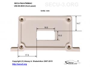 SECU-P&H+PWMIAC Фрезеровка передней крышки