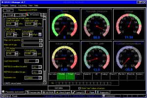Ночные цвета в SECU-3 Manager