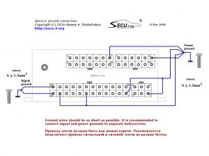 SECU-3i подключение массы